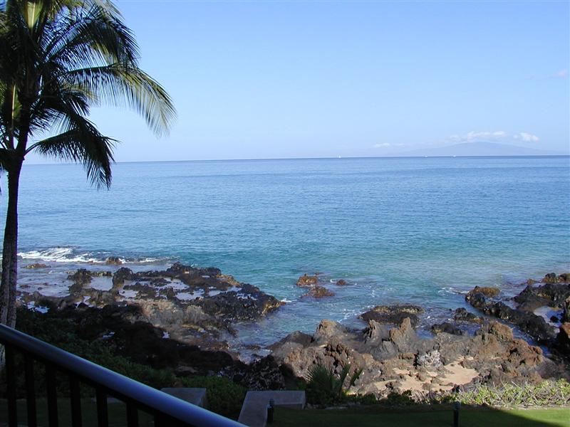 Kihei Surfside Unit 202 Oceanfront view