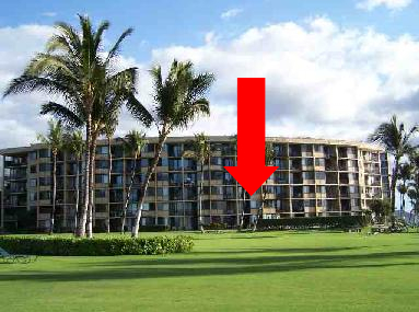 Kihei Surfside Unit 206 Location photo