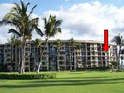 Kihei Surfside Unit 402 location