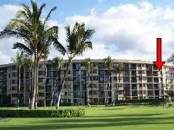 Kihei Surfside Unit 502 location