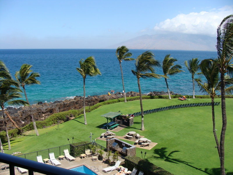 Kihei Surfside Unit 507 Oceanfront View