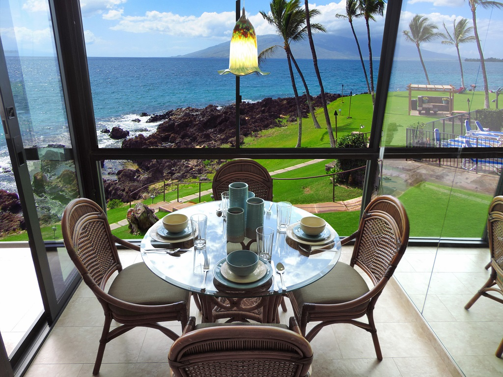 Kihei Surfside Oceanfront Condo View
